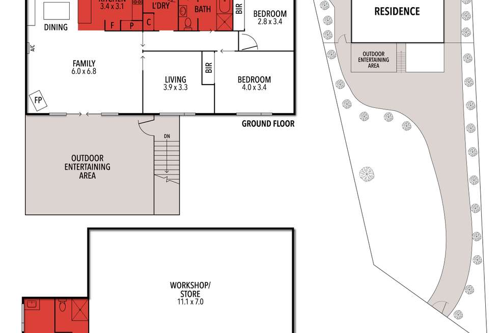 Floorplan of Homely house listing, 24 McMahon Avenue, Anglesea VIC 3230
