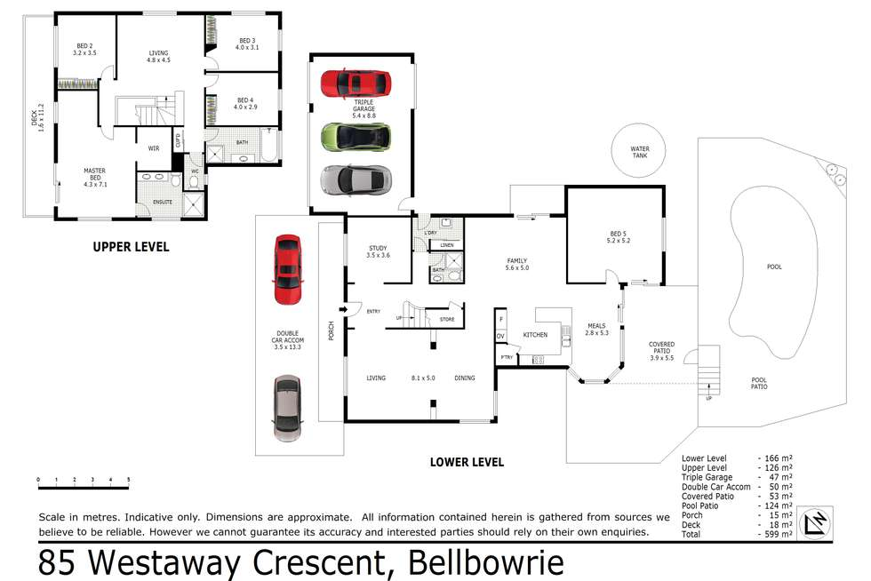 Floorplan of Homely house listing, 85 Westaway Crescent, Bellbowrie QLD 4070