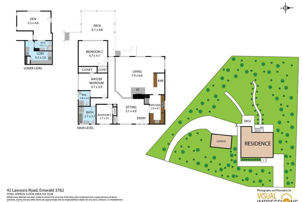Floorplan of Homely house listing, 42 Lawsons Road, Emerald VIC 3782