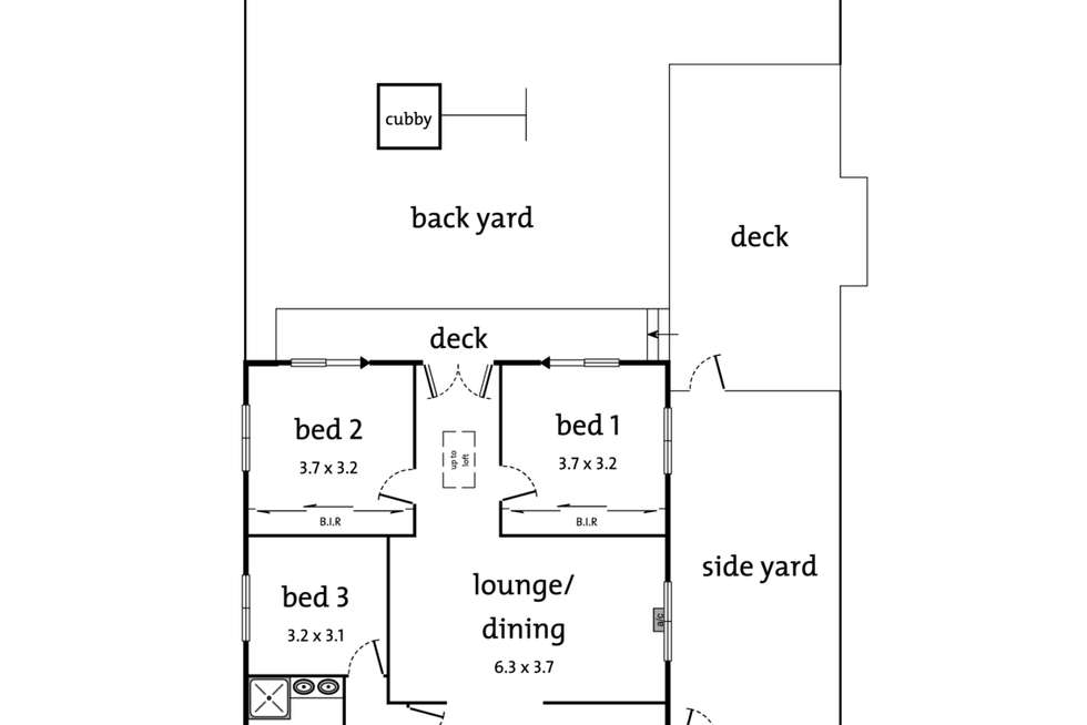Floorplan of Homely house listing, 325 Springvale Road, Forest Hill VIC 3131