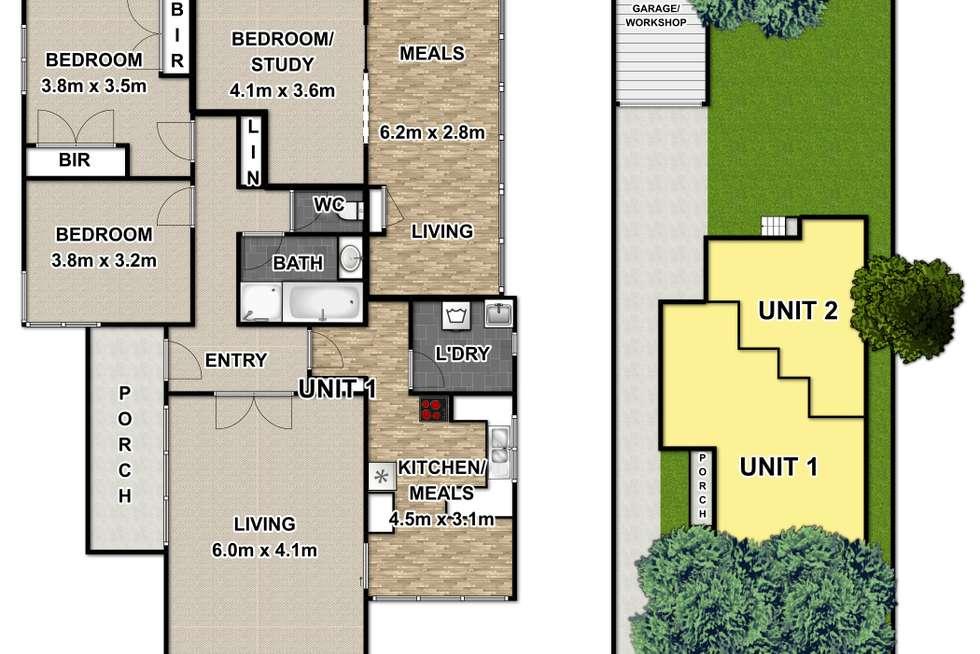 Floorplan of Homely house listing, 12 Sandy Street, Nunawading VIC 3131