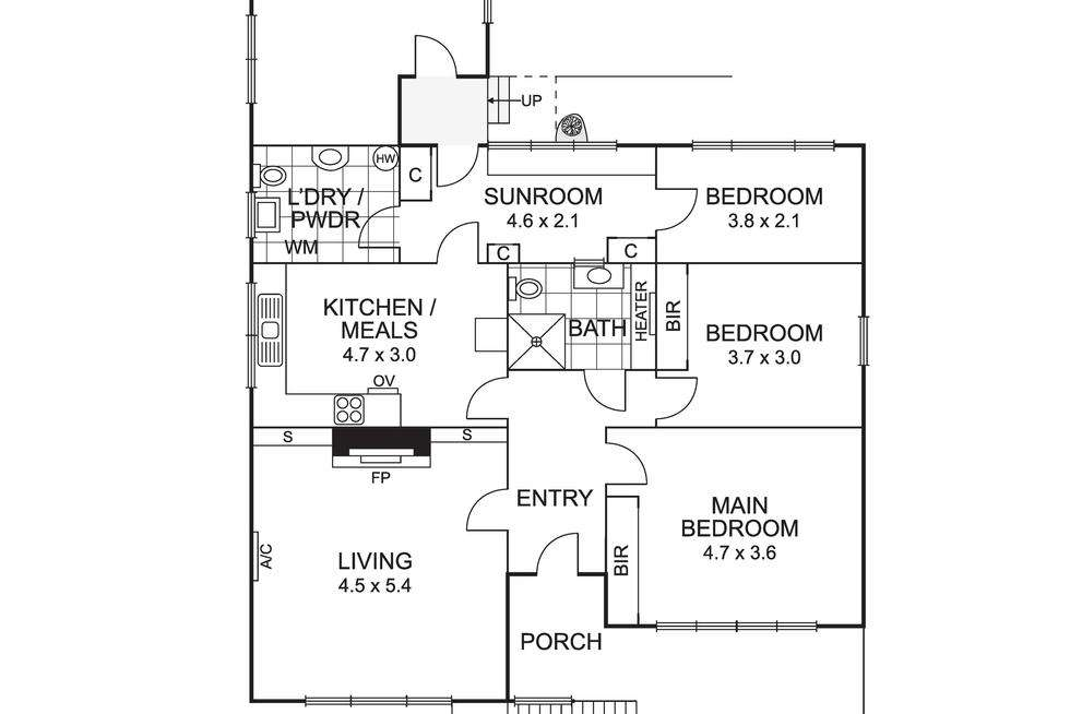 Floorplan of Homely house listing, 3 Fortune Street, Box Hill North VIC 3129