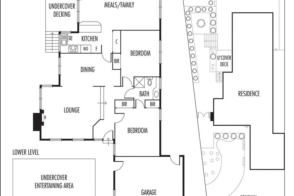 Floorplan of Homely house listing, 10 Myrtle Court, Watsonia North VIC 3087