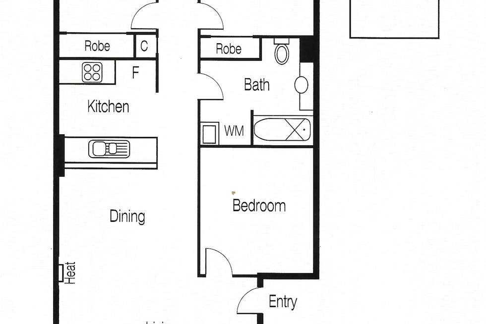 Floorplan of Homely apartment listing, 208/28 Little Lonsdale Street, Melbourne VIC 3000