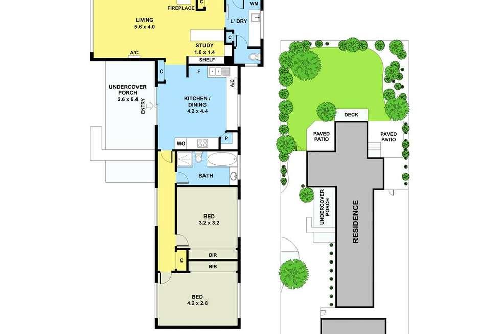 Floorplan of Homely house listing, 2 Gilgandra Street, Warneet VIC 3980