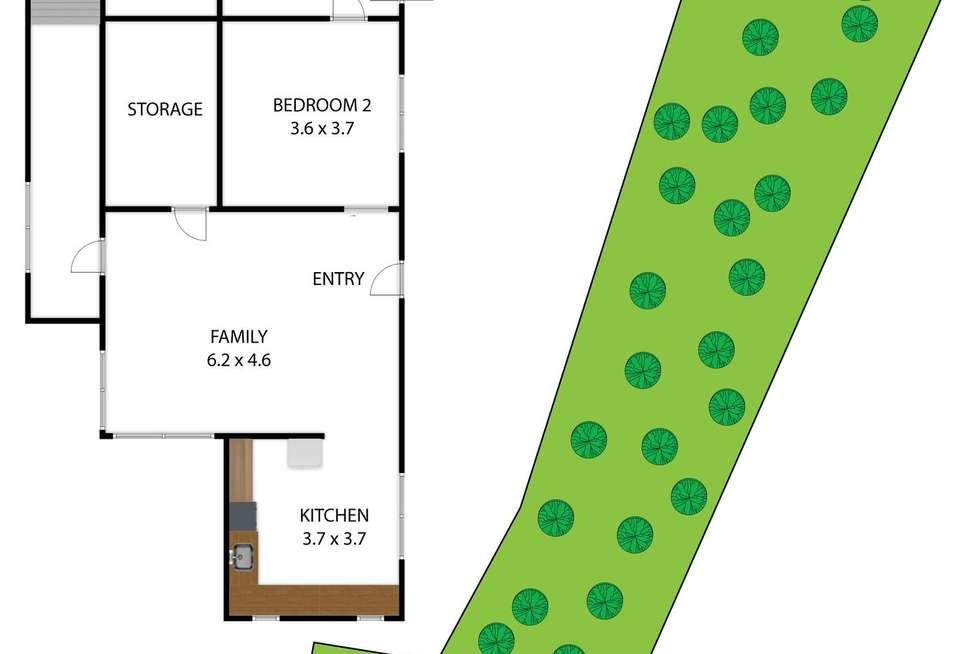 Floorplan of Homely house listing, 15 Daveys Lane, Hoddles Creek VIC 3139