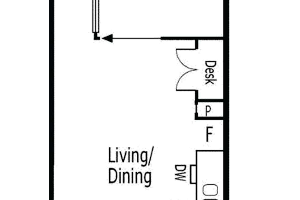 Floorplan of Homely apartment listing, 108/16 Liverpool Street, Melbourne VIC 3000