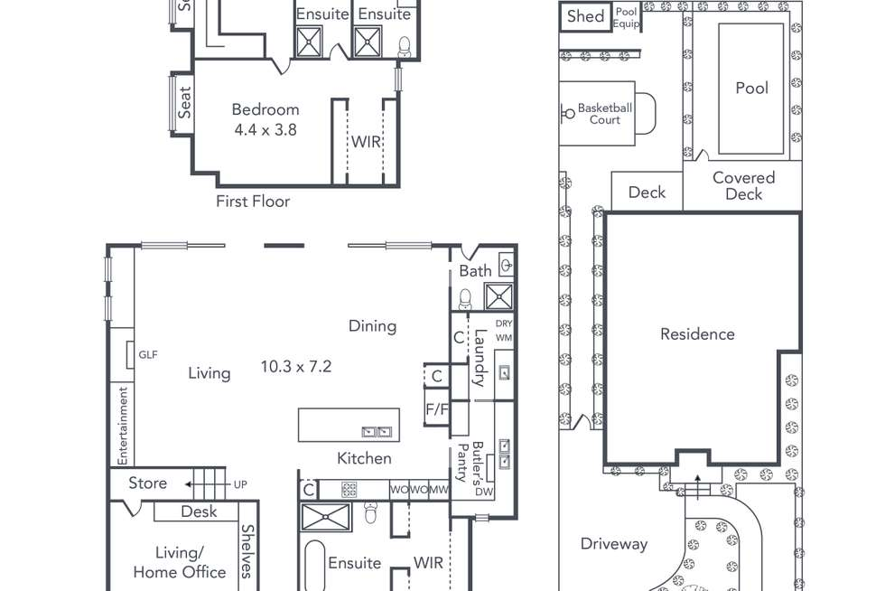 Floorplan of Homely house listing, 235 Union Road, Surrey Hills VIC 3127