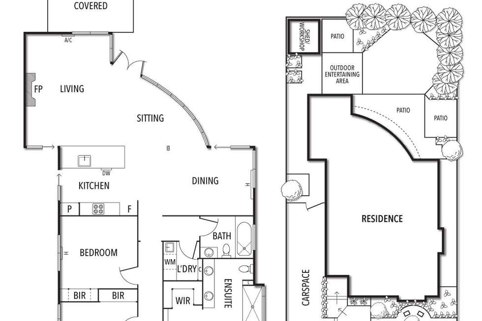 Floorplan of Homely house listing, 16 Allison Road, Elsternwick VIC 3185