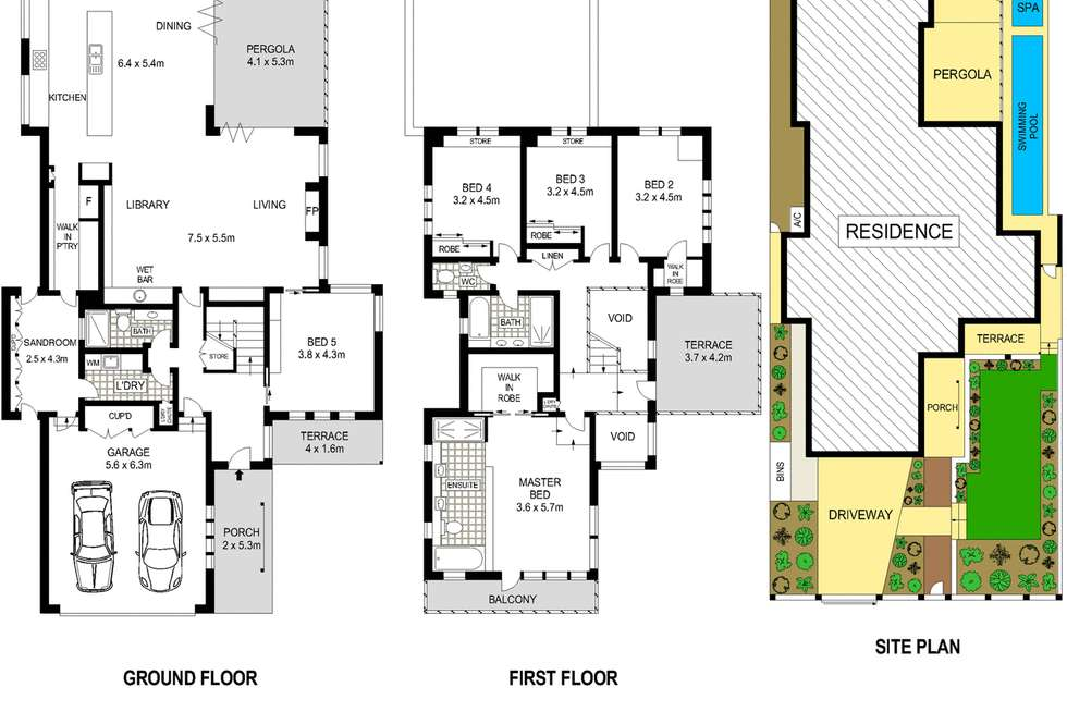 Floorplan of Homely house listing, 5 College Street, Manly NSW 2095