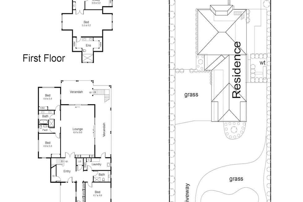 Floorplan of Homely house listing, 14 Bass Street, Flinders VIC 3929