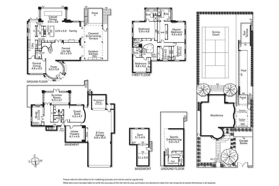 Floorplan of Homely house listing, 10 Struan Street, Toorak VIC 3142
