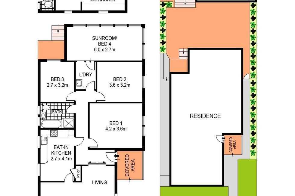 Floorplan of Homely house listing, 39 St Thomas Street, Bronte NSW 2024