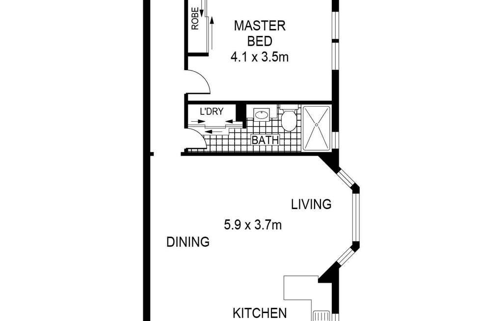 Floorplan of Homely apartment listing, 8/5 Elanora Street, Rose Bay NSW 2029