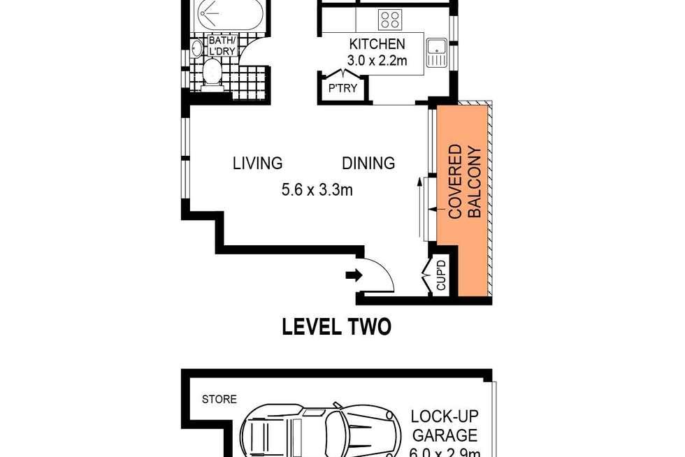 Floorplan of Homely apartment listing, 4/24-26 Warners Avenue, North Bondi NSW 2026