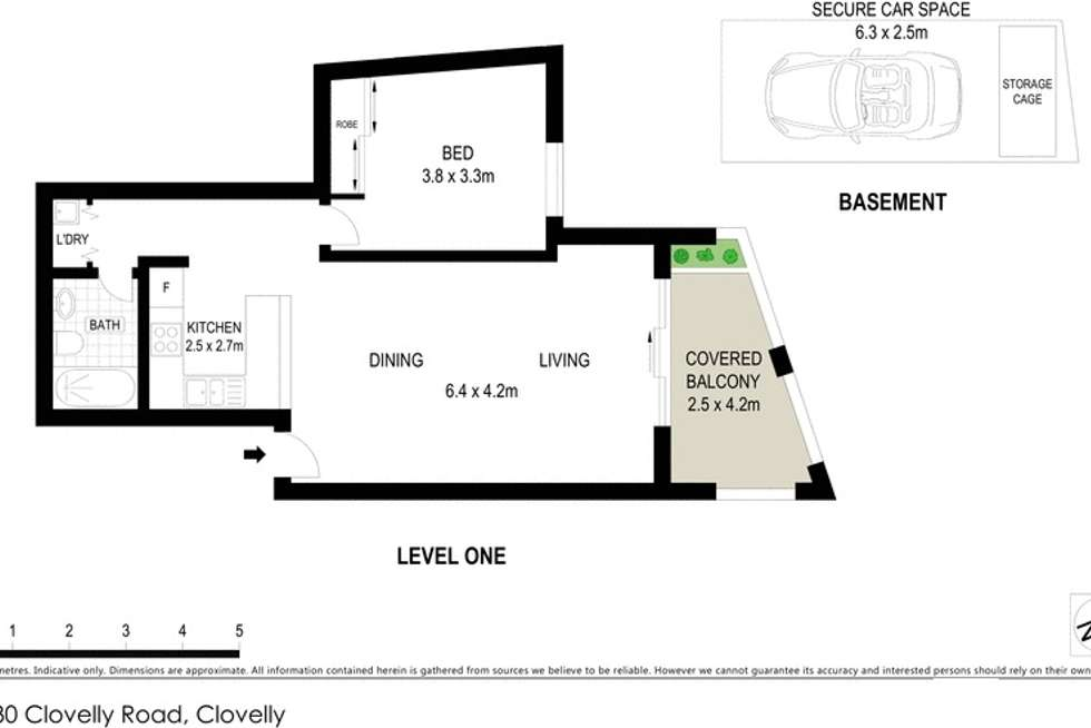 Floorplan of Homely apartment listing, 4/230 Clovelly Road, Coogee NSW 2034