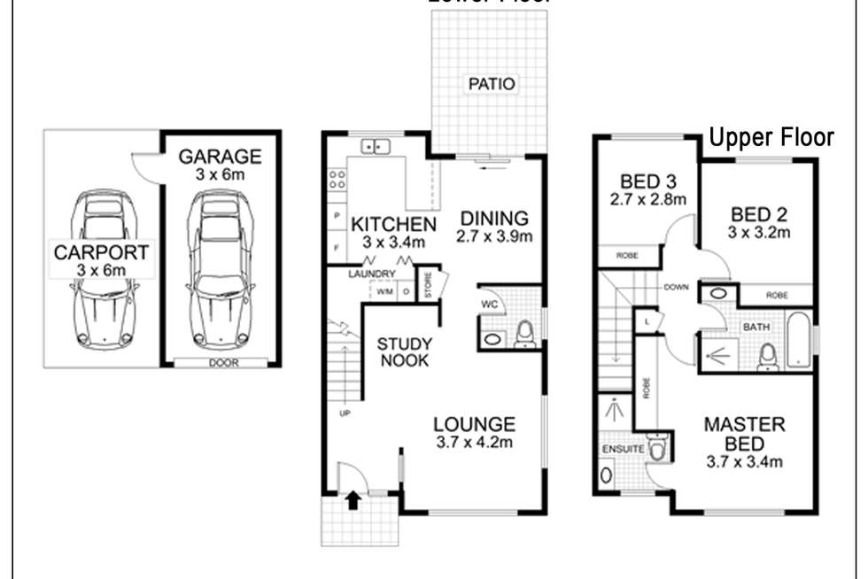 Floorplan of Homely house listing, 196 Stanhope Parkway, Stanhope Gardens NSW 2768