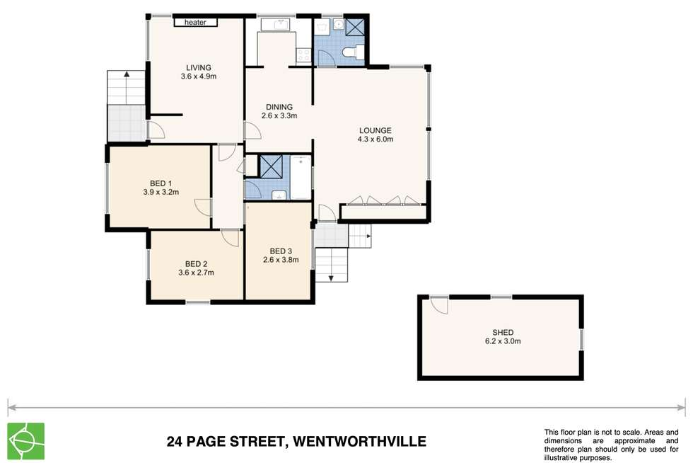 Floorplan of Homely house listing, 24 Page Street, Wentworthville NSW 2145