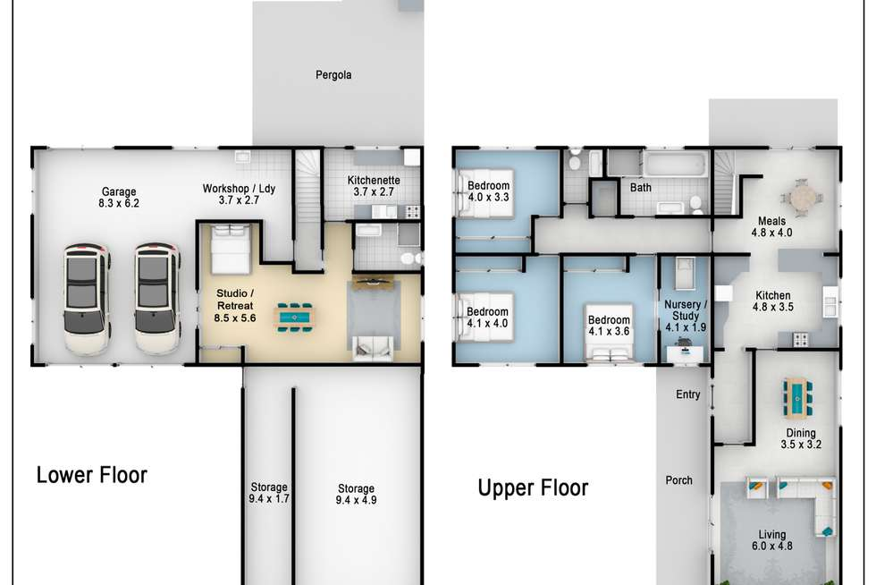 Floorplan of Homely house listing, 13 Noora Place, Marayong NSW 2148