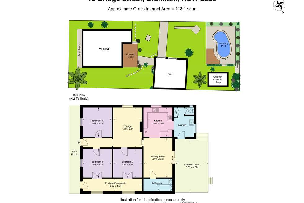 Floorplan of Homely house listing, 12 Bridge Street, Branxton NSW 2335