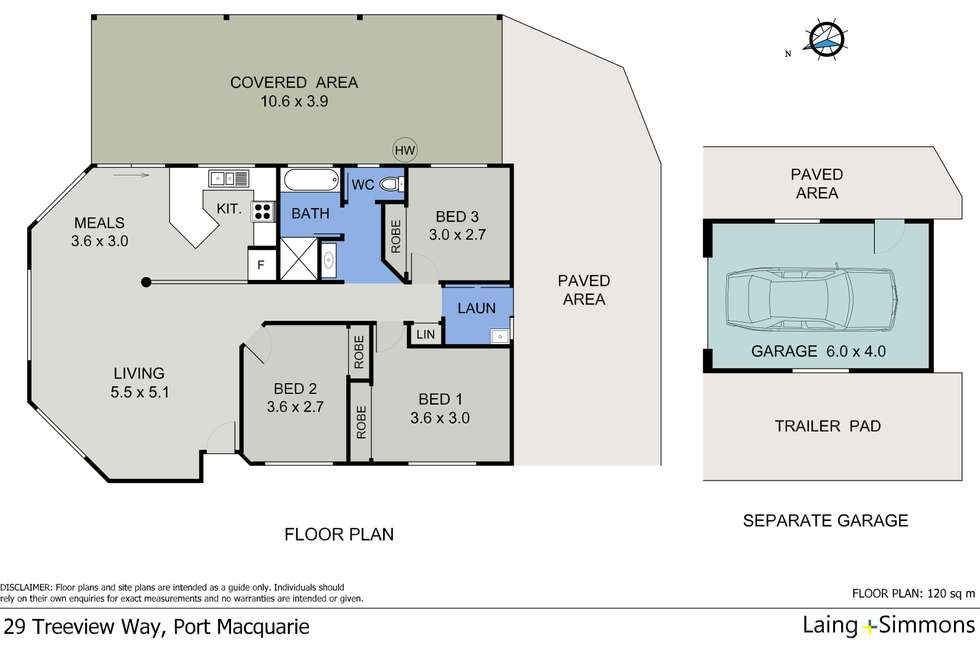 Floorplan of Homely house listing, 29 Treeview Way, Port Macquarie NSW 2444