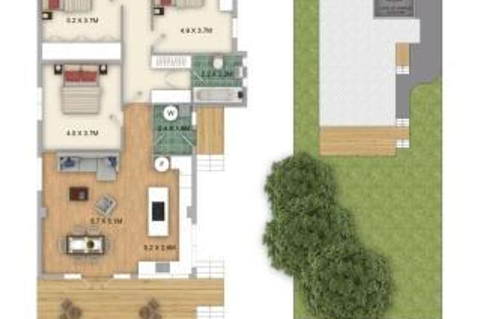 Floorplan of Homely house listing, 93 Hardy Street, Dover Heights NSW 2030