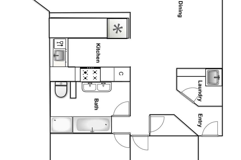 Floorplan of Homely apartment listing, 37/26 Macquarie Street, Barton ACT 2600
