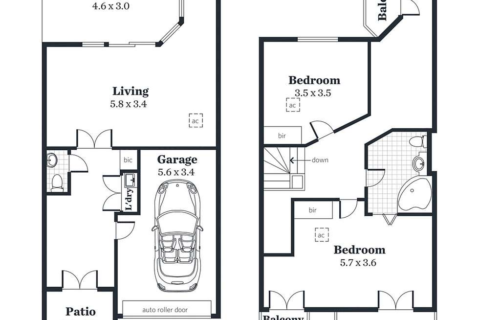 Floorplan of Homely house listing, 49 Alfred Street, Adelaide SA 5000