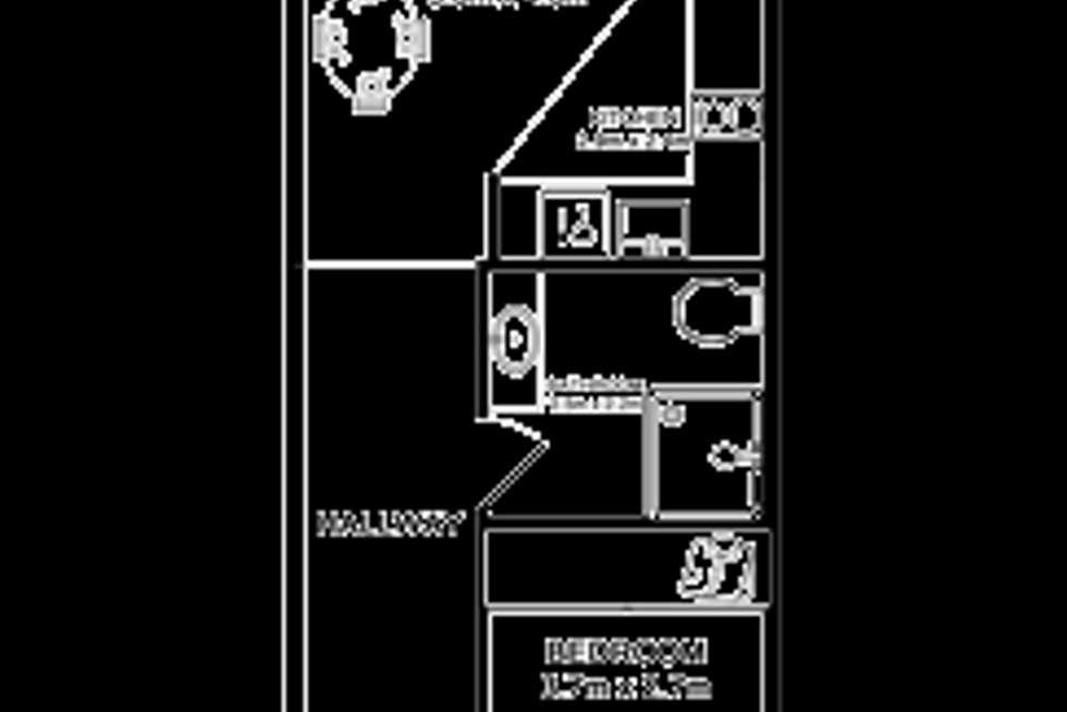 Floorplan of Homely unit listing, 412/61b Dowling Street, Nelson Bay NSW 2315