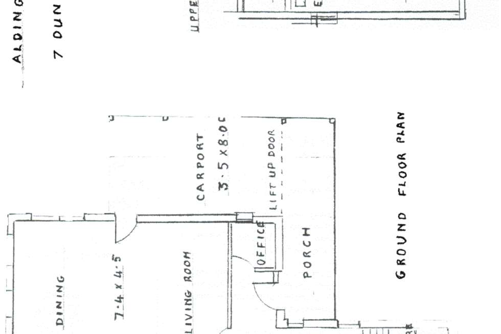 Floorplan of Homely house listing, 7 - 9 Dunstan Street, Aldinga Beach SA 5173