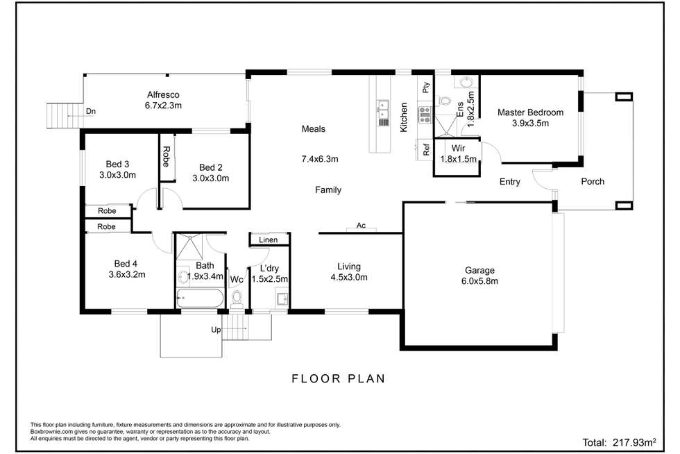 Floorplan of Homely house listing, 14 Innes Street, North Rothbury NSW 2335