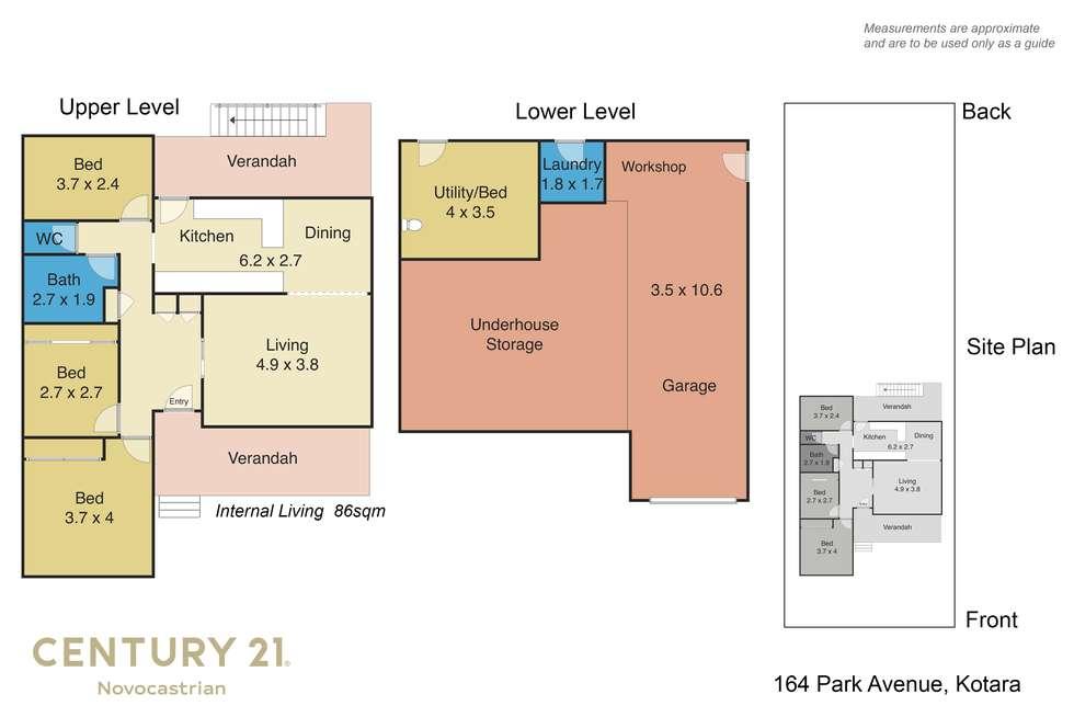 Floorplan of Homely house listing, 164 Park Avenue, Kotara NSW 2289