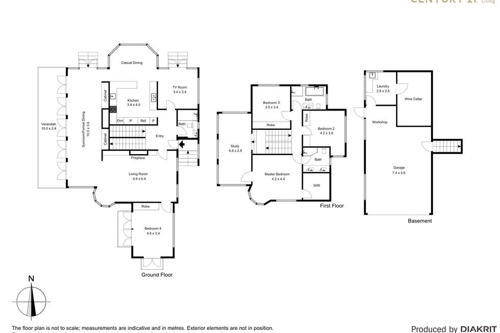 Floorplan of Homely house listing, 7 Prior Avenue, Cremorne Point NSW 2090