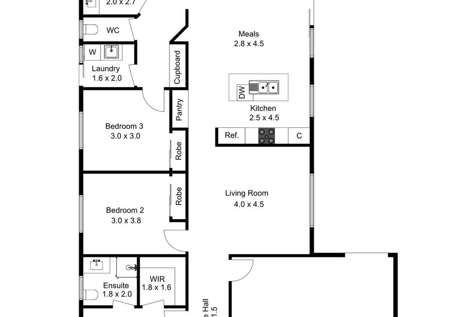 Floorplan of Homely house listing, 15 Elderberry Way, Pakenham VIC 3810