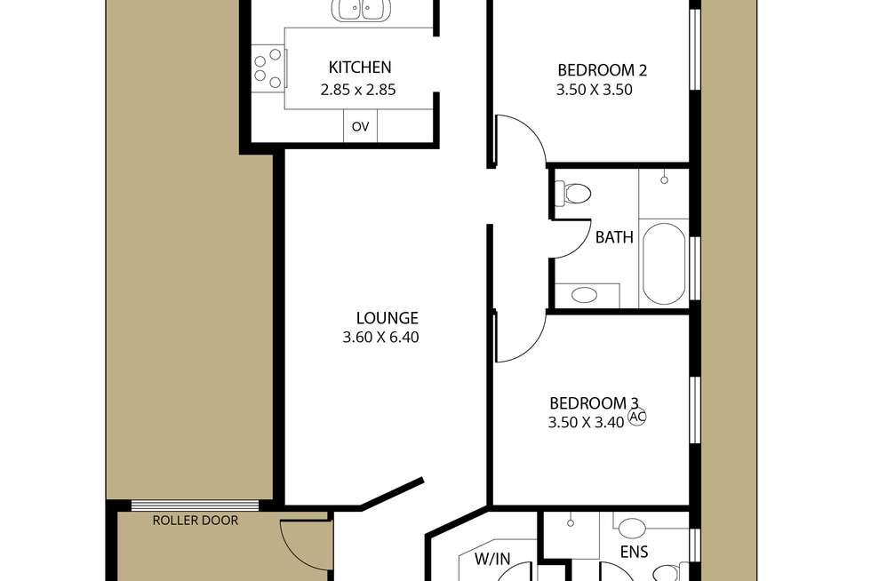 Floorplan of Homely house listing, 3 Wenlock Street, Brighton SA 5048