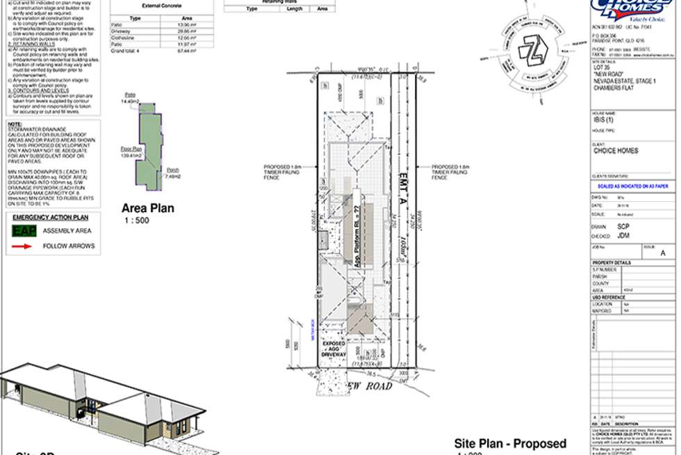 Floorplan of Homely house listing, LOT 35 Idyllic Street, Park Ridge QLD 4125