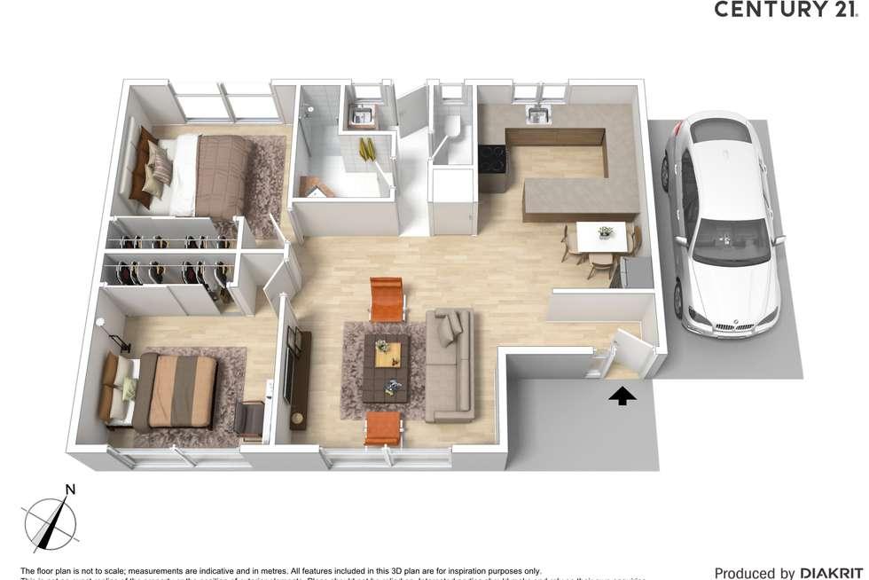 Floorplan of Homely unit listing, 10/40 Regent Street, Moama NSW 2731