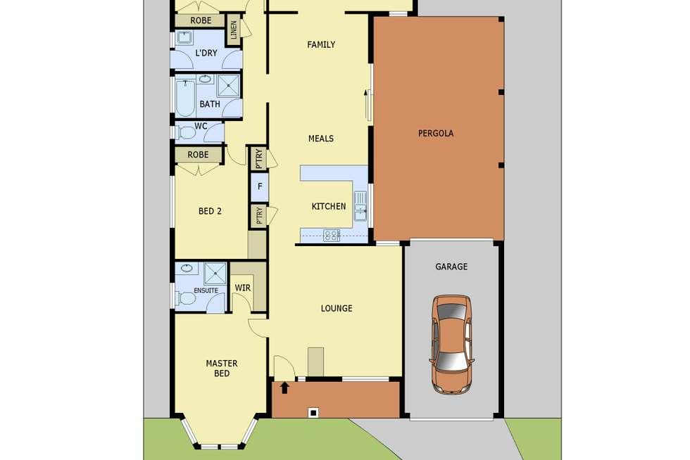 Floorplan of Homely house listing, 84 Ebony Drive, Pakenham VIC 3810
