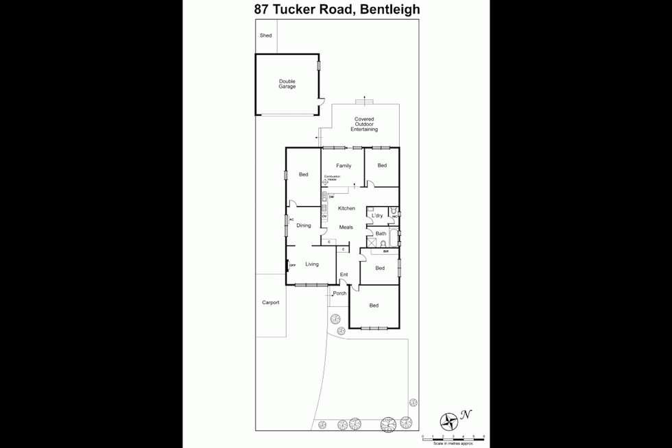 Floorplan of Homely house listing, 87 Tucker Road, Bentleigh VIC 3204