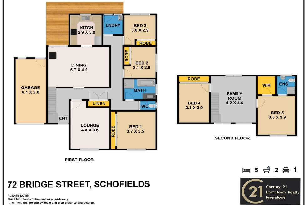 Floorplan of Homely house listing, 72 Bridge St, Schofields NSW 2762