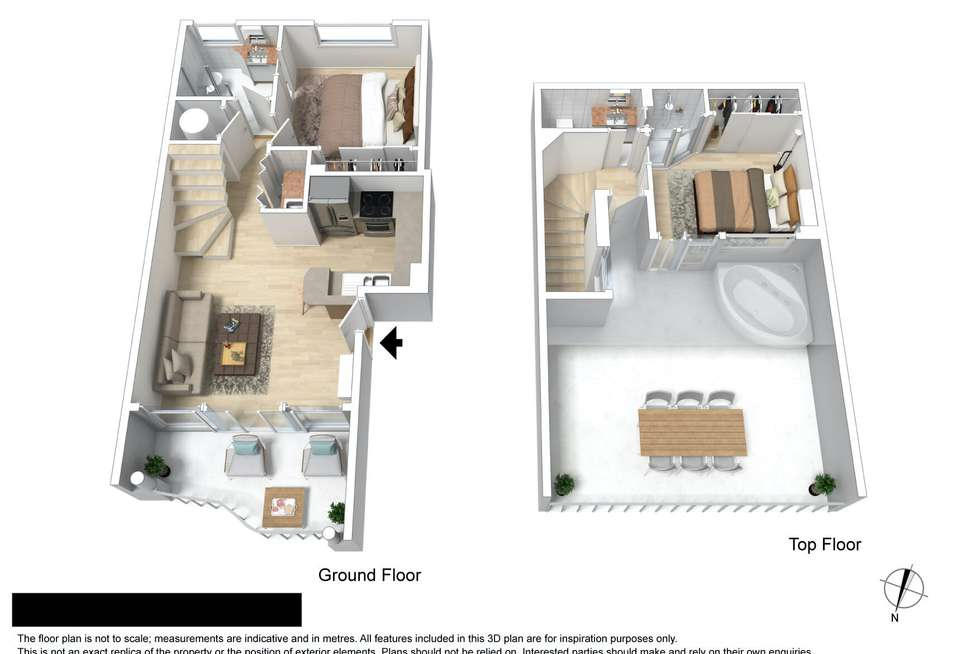 Floorplan of Homely apartment listing, 37/2607 Gold Coast Highway, Mermaid Beach QLD 4218