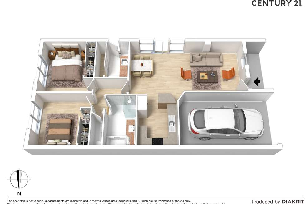 Floorplan of Homely unit listing, 4/9 Echuca Street, Moama NSW 2731