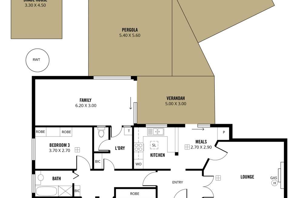 Floorplan of Homely house listing, 22 Mitchell Street, Seaview Downs SA 5049