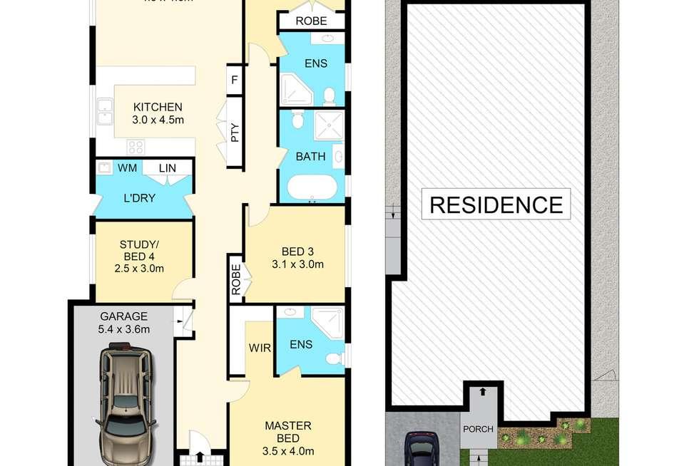 Floorplan of Homely house listing, 143 Longerenong Avenue, Box Hill NSW 2765