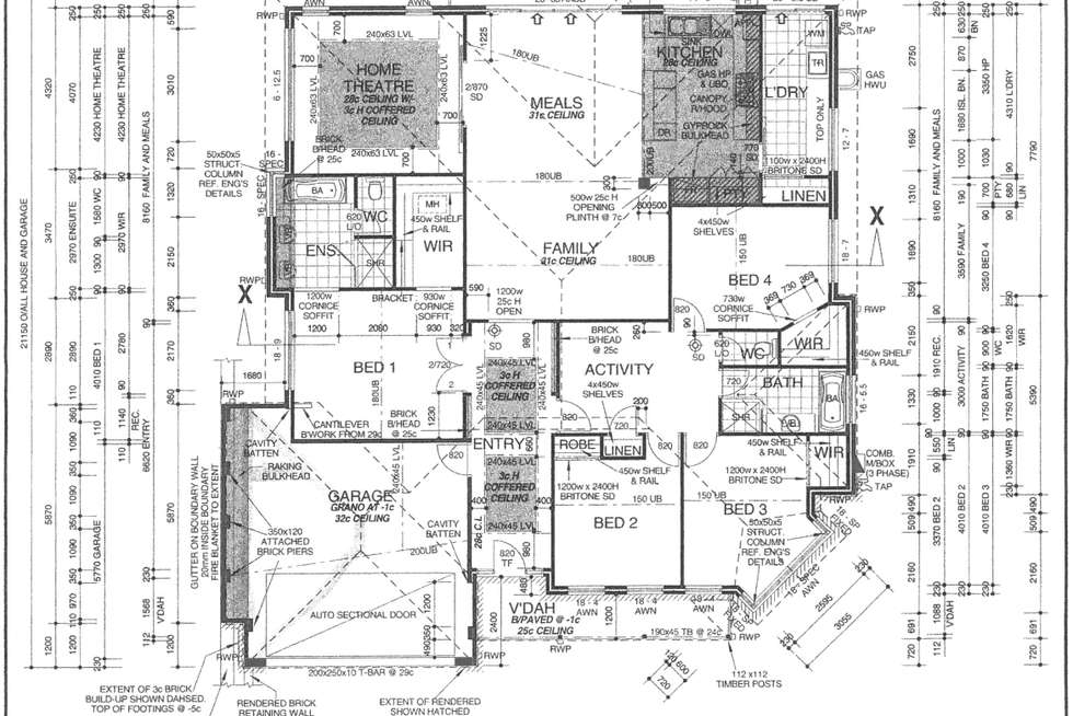 Floorplan of Homely house listing, 3 Scarlet Close, Tapping WA 6065