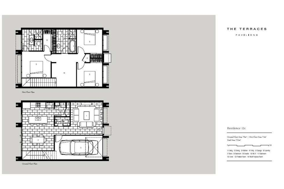 Floorplan of Homely townhouse listing, 24 Curlew Way, Peregian Springs QLD 4573