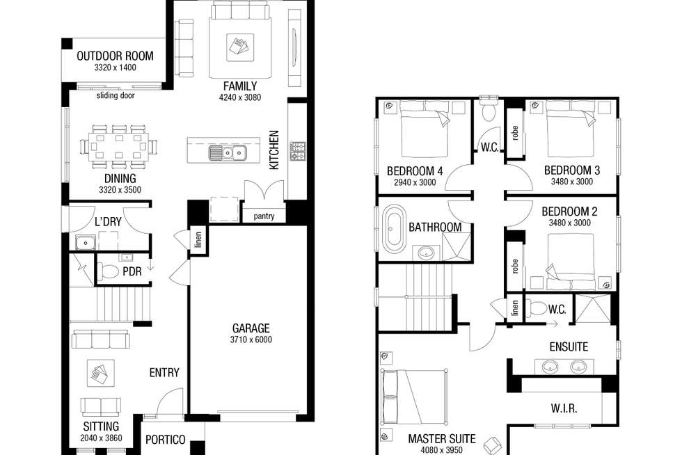 Floorplan of Homely residentialLand listing, Lot 22 Proposed Road, Leppington NSW 2179