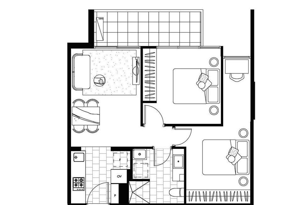 Floorplan of Homely apartment listing, 210/251 Canterbury Road, Forest Hill VIC 3131