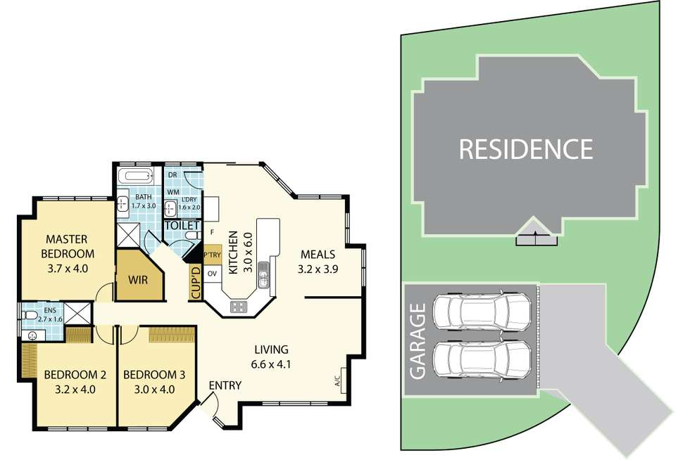 Floorplan of Homely house listing, 1 Westralia Close, Salamander Bay NSW 2317