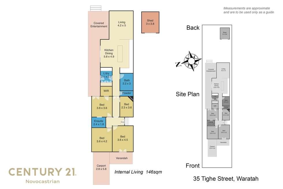 Floorplan of Homely house listing, 35 Tighe Street, Waratah NSW 2298